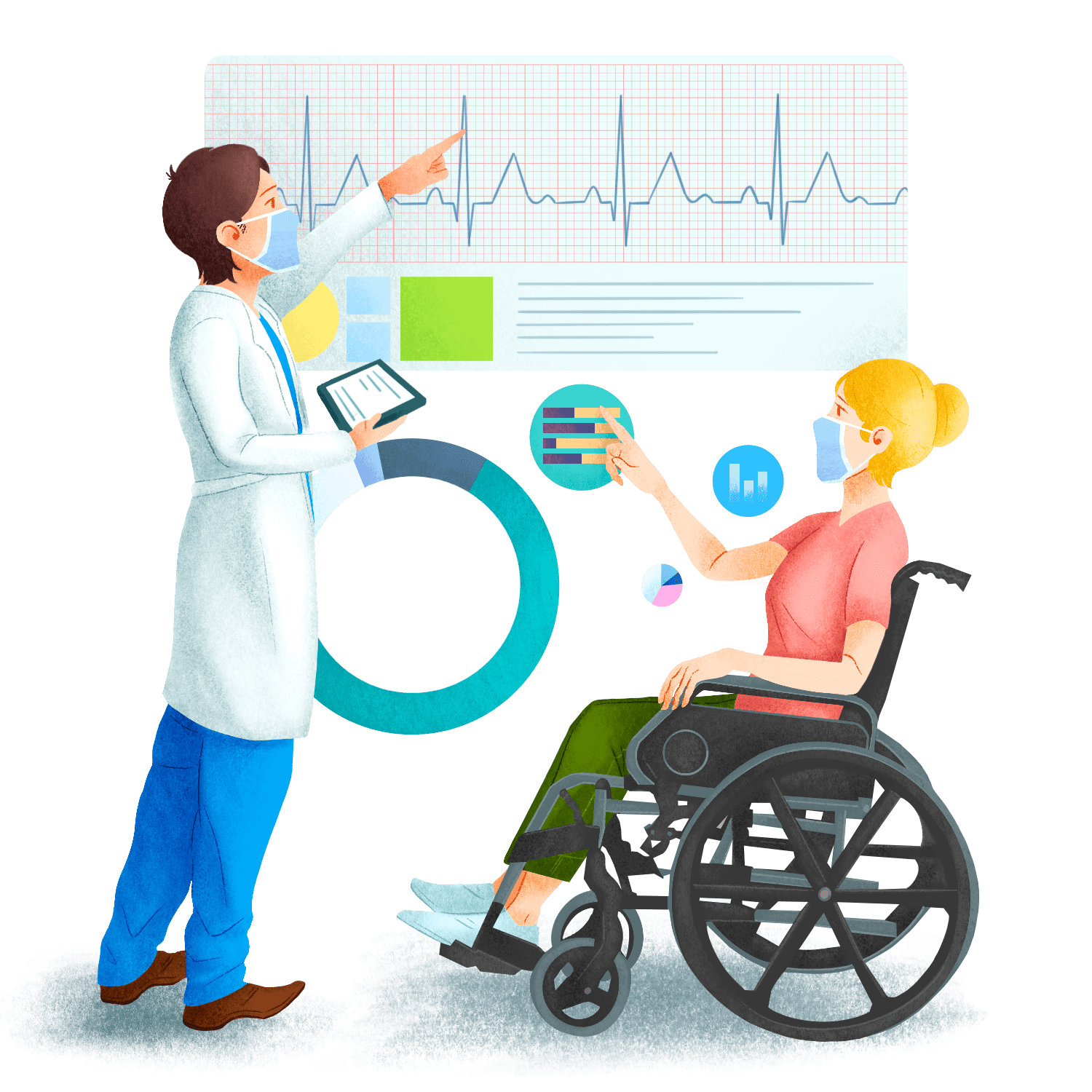 Meaningful patient responses illustration